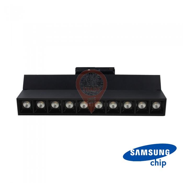 25W LED Linear Trackight SAMSUNG Chip Black Body 4000K