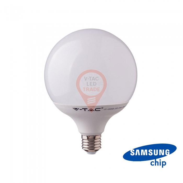 LED Bulb SAMSUNG Chip 22W E27 G120 Plastic 3000K 120 lm/Watt
