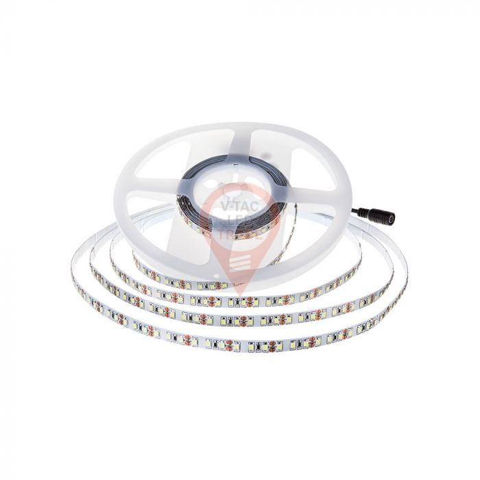 LED Stip SMD2835 - 120 LEDs 24V IP20 6400K  Double PCB 10m Roll