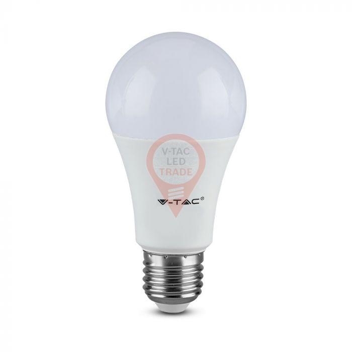 LED Bulb - 9.5W E27 A60 Plastic 6400K 160 lm/W