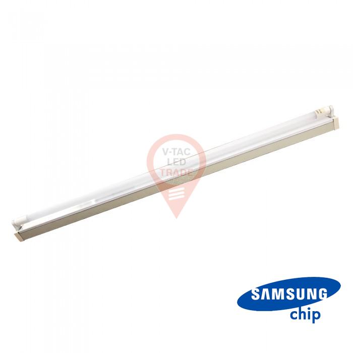 22W LED Single Battern Fitting SAMSUNG CHIP 150cm White