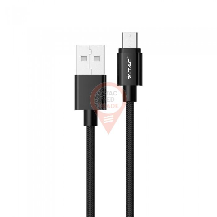 1m. Micro USB Cable Black - Platinum Series