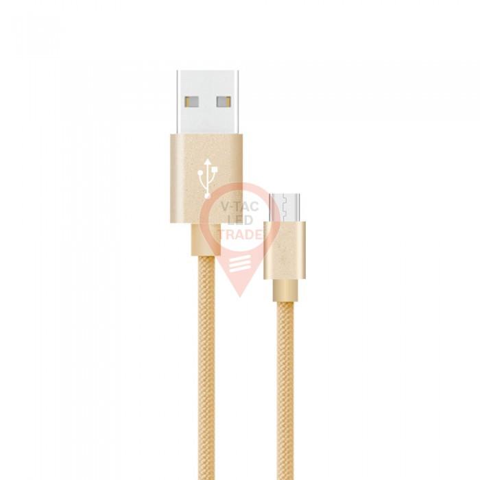 1m. Type C USB Cable Gold - Platinum Series