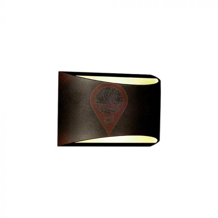 10W LED Wall Lamp Bridgelux Chip Black Body 4000K