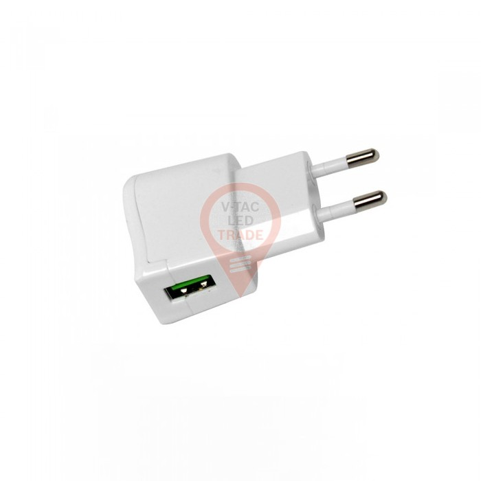 USB Travel Adaptor Blister Package White