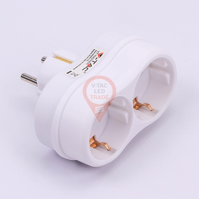 Outlet Adapter 16A White