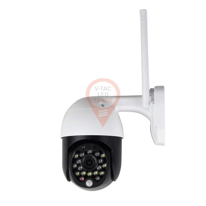 Wi-Fi Outdoor Camera with Red & Blue Light 3MP IP65 Dome