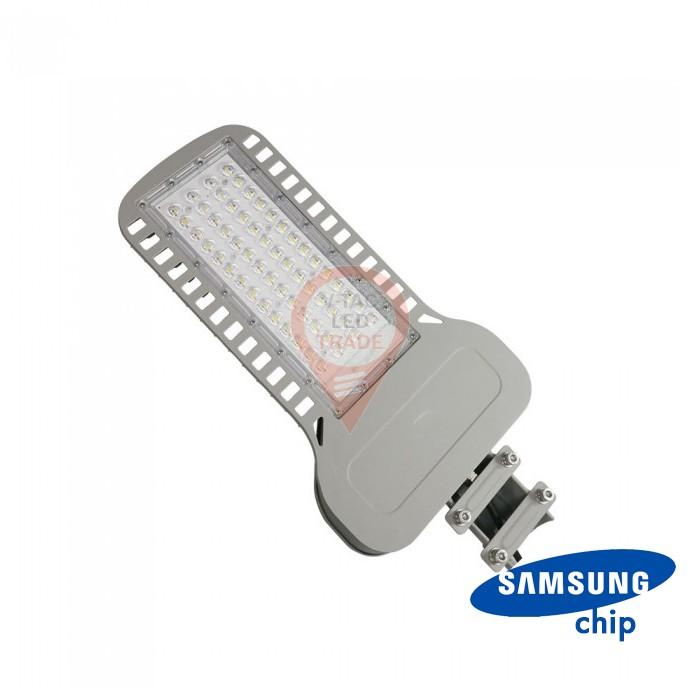 LED Street Light SAMSUNG Chip 5 yrs Warranty - 100W Slim 6400K 120 lm/Watt