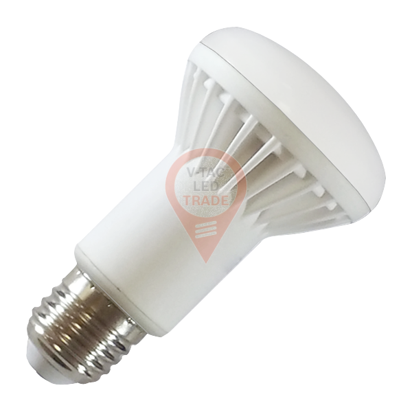 LED Bulb Aluminum - 8W E27 R63 Epistar Chip Natural White