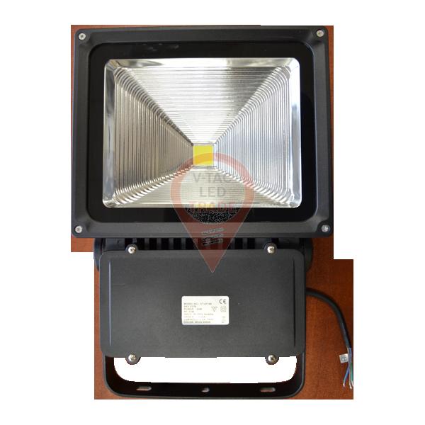 100W LED Floodlight Classic Reflector - Warm White, Black Body
