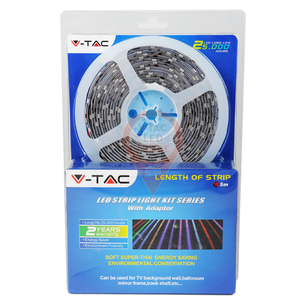 LED Strip Set - 5050 30 LEDs RGB Waterproof