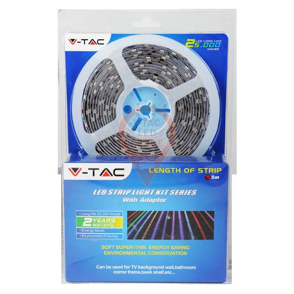 LED Strip Set - 5050 60 LEDs White Waterproof