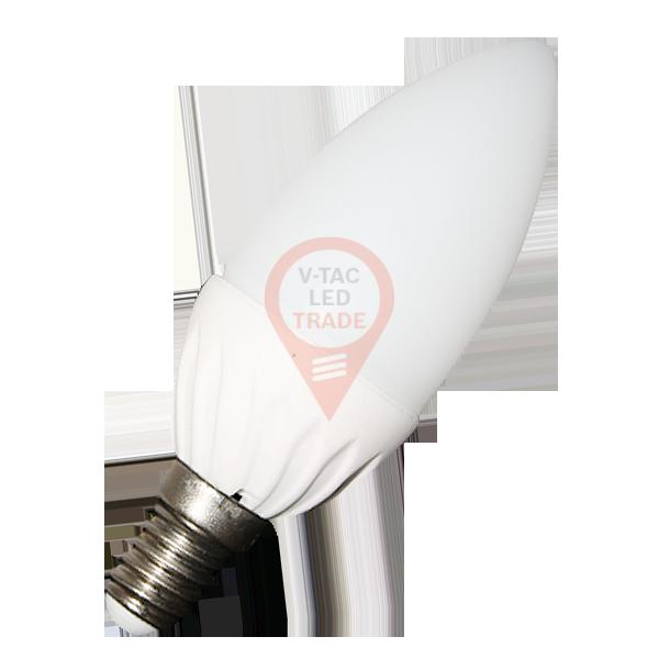 LED Bulb - 4W E14 Candle Natural White