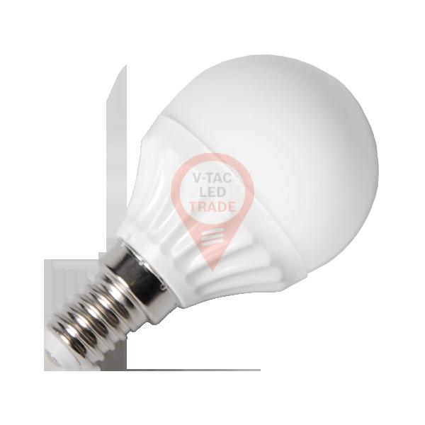 LED Bulb - 4W E14 P45 White