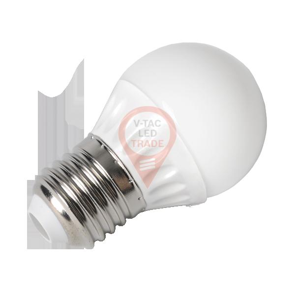 LED Bulb - 4W E27 P45 White