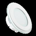 12W LED Mini Panel Glass - Round, Change Color 3000K/4500K/6000K