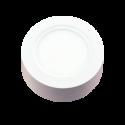 8W LED Surface Panel - Round White
