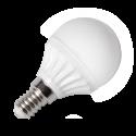 LED Bulb - 4W E14 P45 Warm White