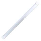10W T8 Fitting with LED Tube - Warm White, 600 mm