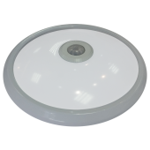 12W Dome Light With Sensor  White