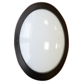 12W Surface mounted LED Fixture - Full Oval, Natural White