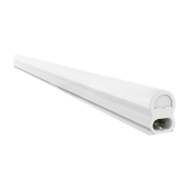 7W T5 Fitting with LED Tube - White, 600 mm