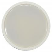LED Spotlight - 5W GU10 SMD White Plastic, Warm White