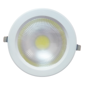 18W LED Downlight Reflector - PKW Body, White