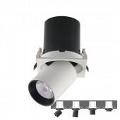 LED Downlight SAMSUNG Chip 18W White Black Body 4000K