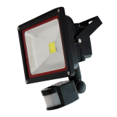 30W LED Floodlight Sensor - Warm White