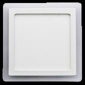 22W LED Surface Panel - Square Warm White