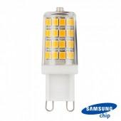 LED Spotlight SAMSUNG CHIP - G9 3W Plastic White