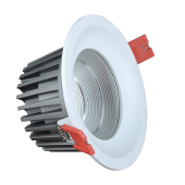 24W LED Downlight - Bridgelux Chip White