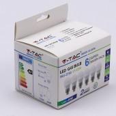 LED Bulb - 5.5W E27 G45 4000K 6PCS/PACK