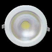 40W LED Downlight Reflector - PKW Body, White