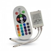 Infrared Controller with Remote Control 24 Buttons