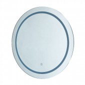25W LED Mirror Light Round IP44 Anti Fog 6400K