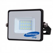 10W LED Floodlight SAMSUNG CHIP Black Body SMD White