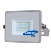 10W LED Floodlight SAMSUNG CHIP Grey Body SMD Natural White