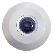 PIR Infrared Motion Sensor Ceiling Mount White Body
