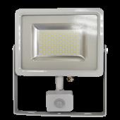 50W LED Sensor Floodlight White body SMD -  Natural White