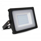 30W LED Floodlight Black Body SMD White