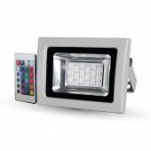 10W LED Floodlight SMD - RGB With IR Remote