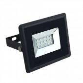 10W LED Floodlight Black Body White