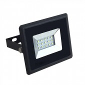 10W LED Floodlight Black Body  Natural White