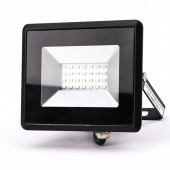 20W LED Floodlight SMD E-Series Black Body Green IP65