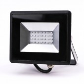 20W LED Floodlight SMD E-Series Black Body Blue IP65