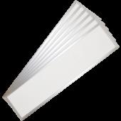 29W LED Panel 1200 x 300 mm 120Lm/W Warm White Incl. Driver 6PCS/SET