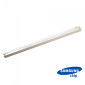 22W LED Single Battern Fitting SAMSUNG CHIP 150cm White