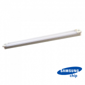 36W LED Double Batten Fitting SAMSUNG CHIP 120cm White